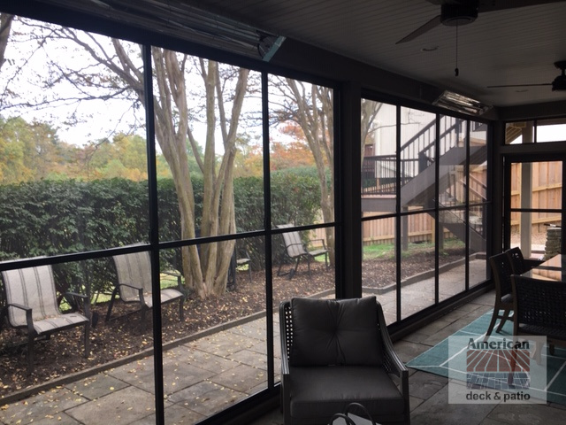 Horizontal EZE Breeze Screened Room